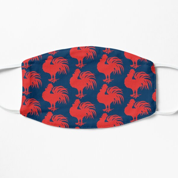 Sydney Roosters Face Mask - One Almighty Red Cockerel Flat Mask