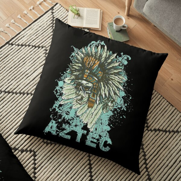 aztec - Awesome aztec person Gift Floor Pillow