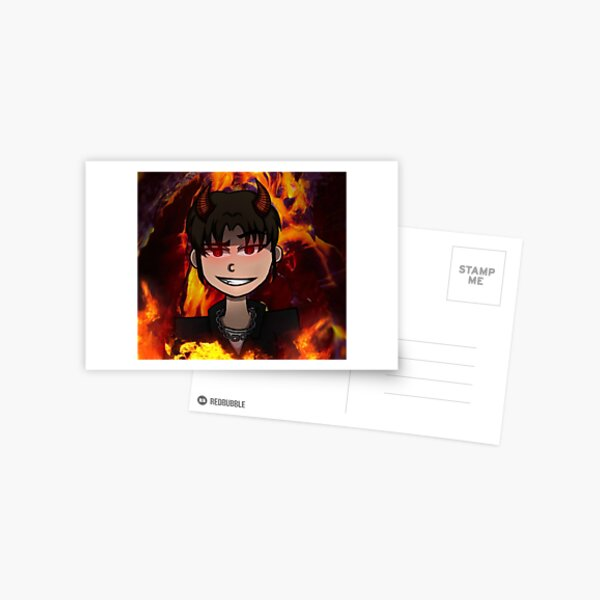 demon boy Postcard