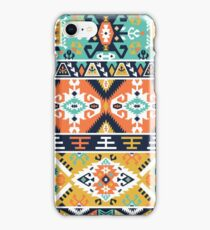 Decorative bright pattern in tribal style iPhone Case/Skin