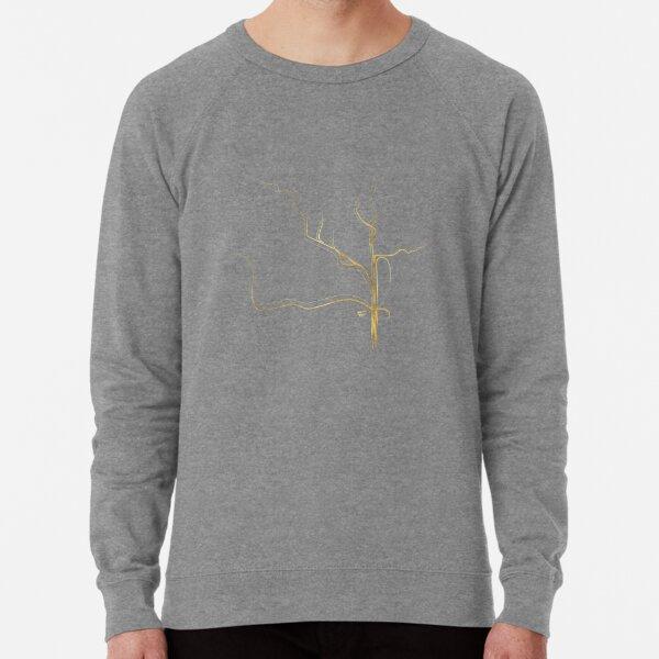Kintsugi 3 #art #decor #buyart #japanese #gold #grey #kirovair #design Lightweight Sweatshirt