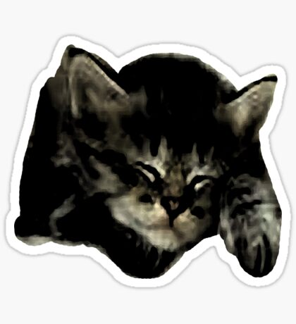 Cats and kittens Sticker