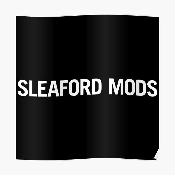 MEILLEURE VENTE - Sleaford Mods Logo Poster