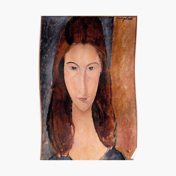 Amedeo Modigliani - Portrait de Jeanne Hebuterne Poster