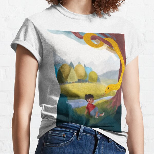Kitchi: The Spirit Fox - Forrest and the Snake  Classic T-Shirt
