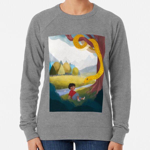 Kitchi: The Spirit Fox - Forrest and the Snake  Lightweight Sweatshirt