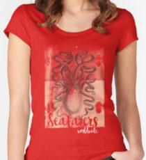 Octopus t-shirt Women's Fitted Scoop T-Shirt