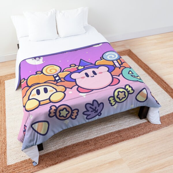 Kirby - A Witchy Spooky night of Kirby and Waddle Dee  Comforter