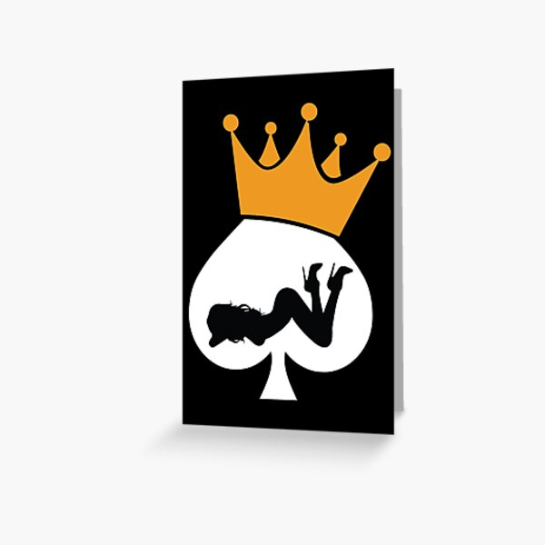 Queen Hotwife Greeting Card
