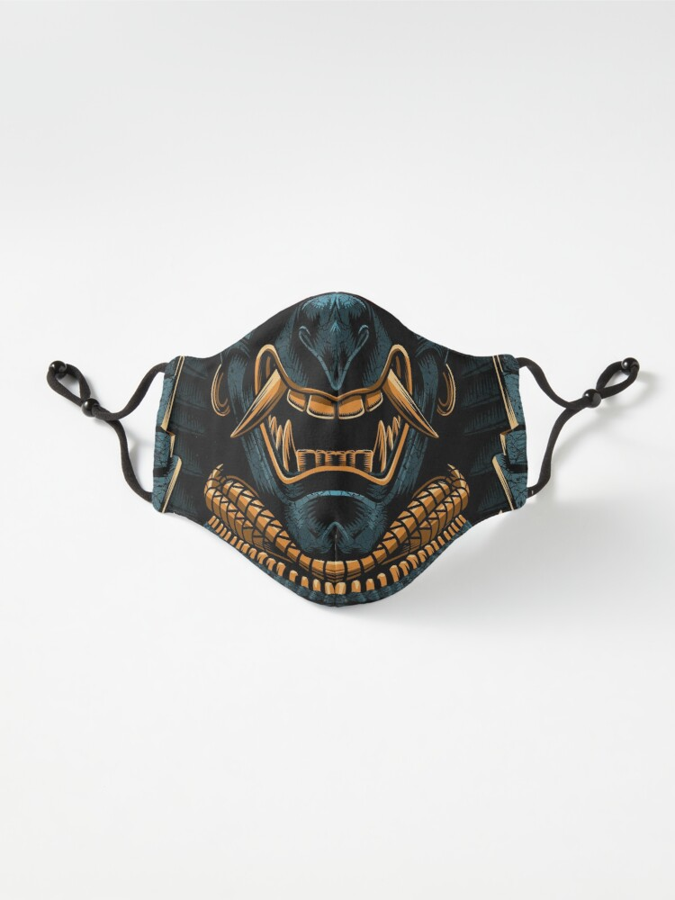 Alternate view of Awesome Samurai Gold Mask