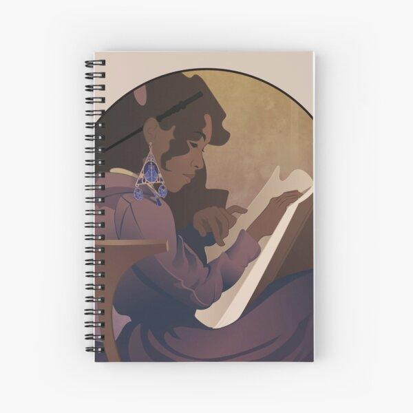 Sorcière lisant - Collection Magie Cahier à spirale