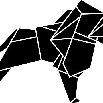 Origami Lion by CalumLamb