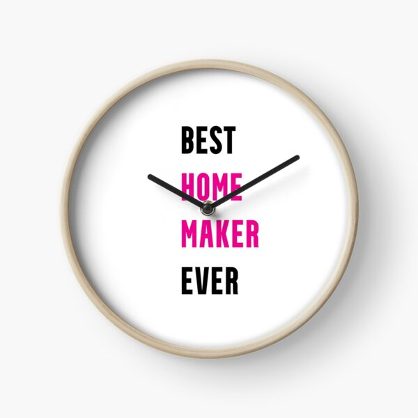 Funny Gifts For Homemakers Clock