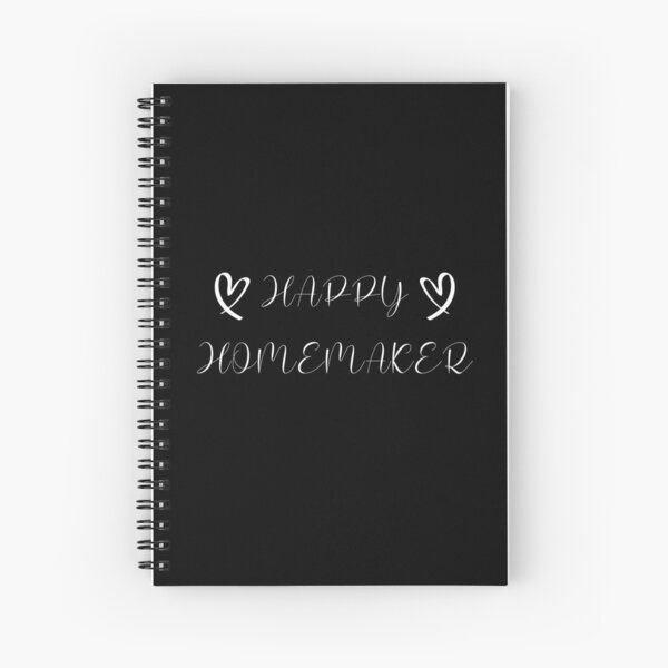 Funny Gifts For Homemakers Spiral Notebook
