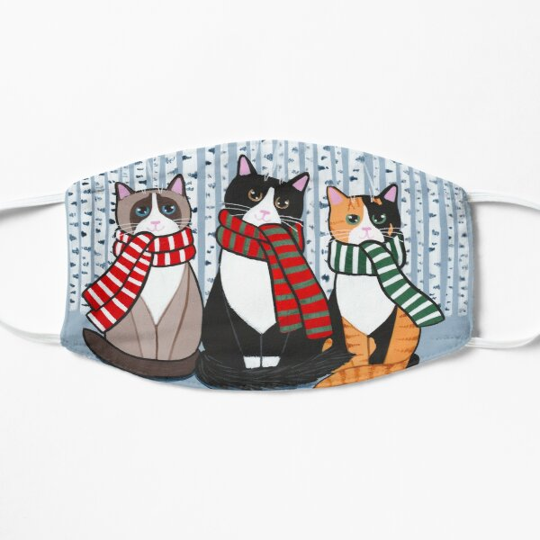 The Winter Cats! Small Mask