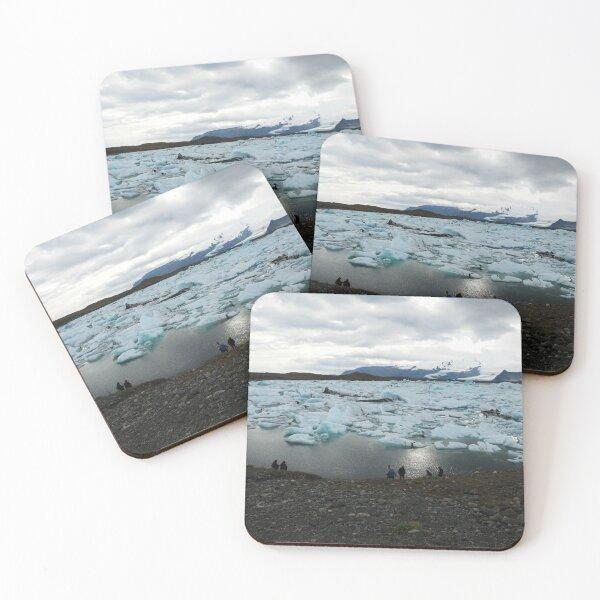 Glacier Lagoon, Iceland Coasters (Set of 4)