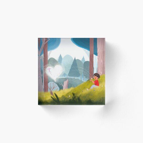 Kitchi: The Spirit Fox - The Journey Acrylic Block