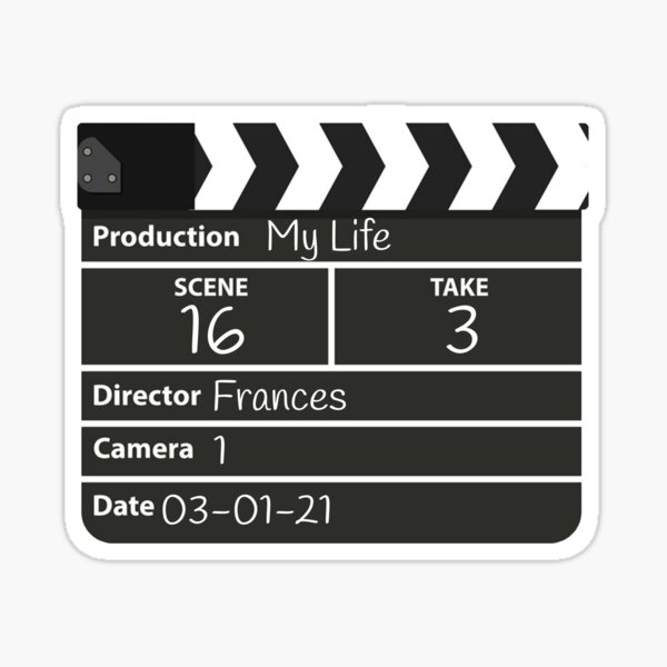 Film director frances Sticker