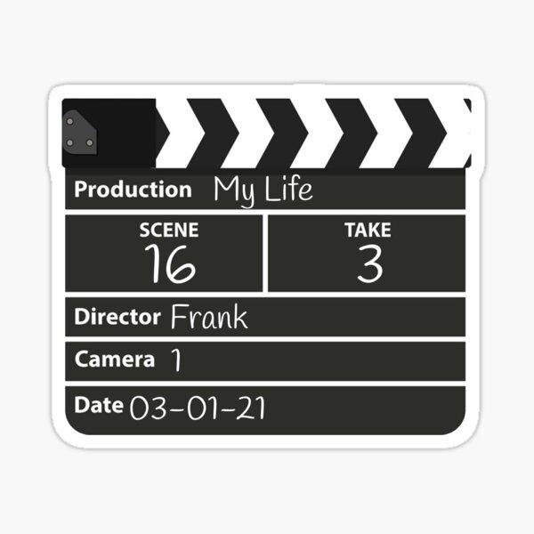 Film director frank Sticker
