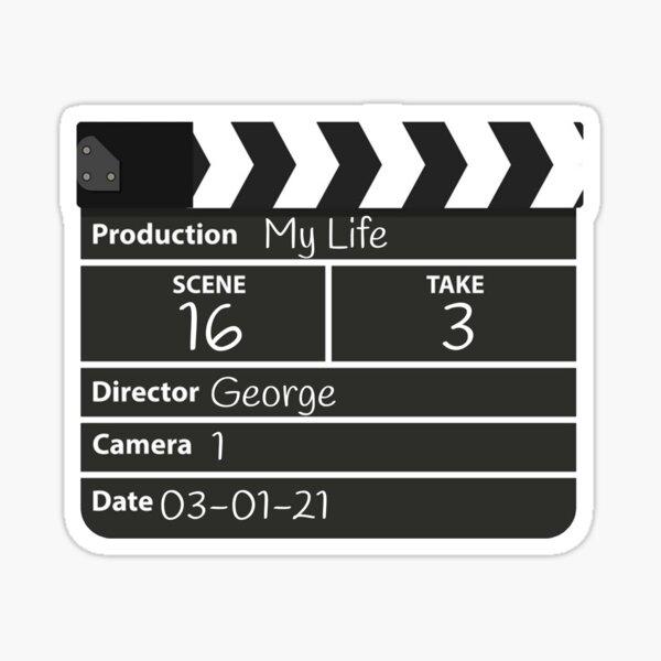 Film director george Sticker