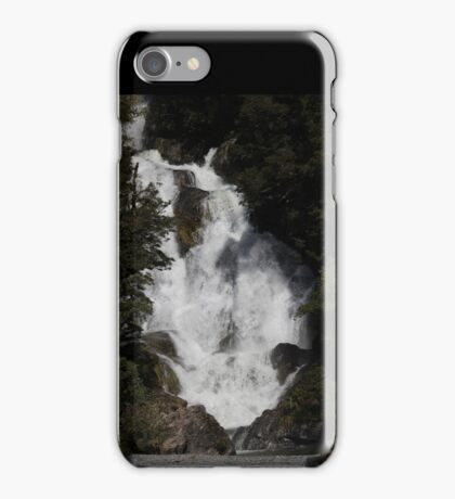 Wonderful Wide Waterfall - NZ  iPhone Case/Skin