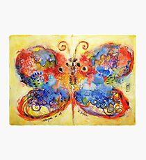 Astrazioni su ali di farfalla Photographic Print