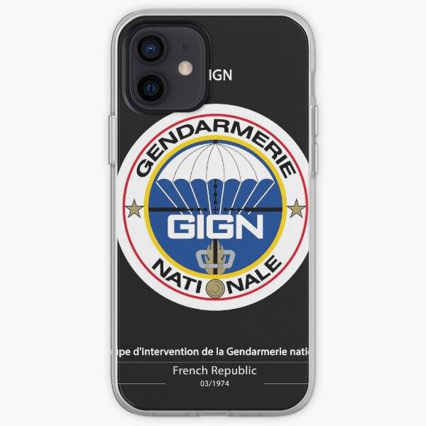 Affiche du GIGN Coque souple iPhone