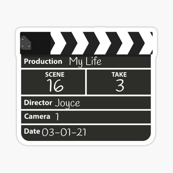 Film director joyce Sticker