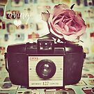 Vintage camera love by SarahMinchin