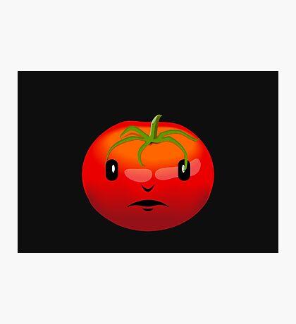 Tomato Face VRS2 Photographic Print