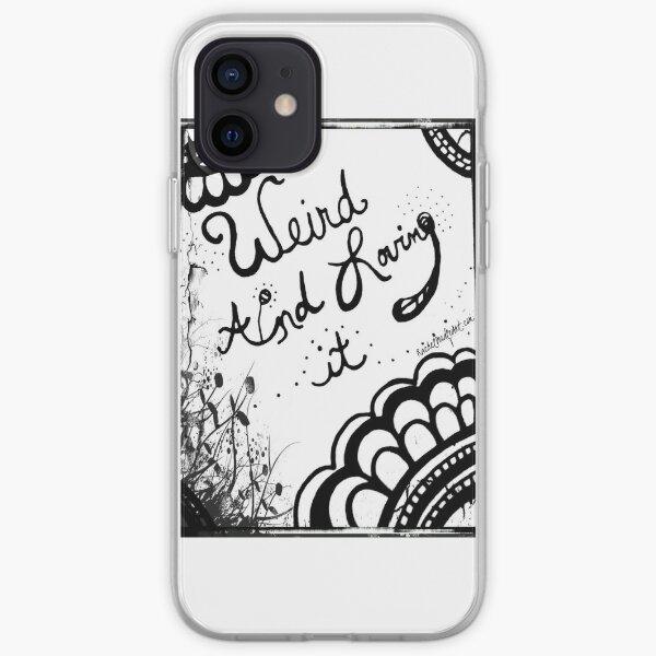 Rachel Doodle Art - Weird And Loving It iPhone Soft Case