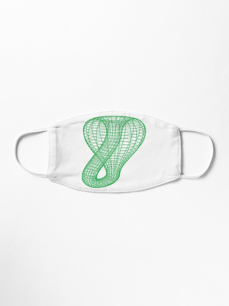 Alternate view of Two-dimensional representation of the Klein bottle immersed in three-dimensional space, #TwoDimensional, #representation, #KleinBottle, #immersed, #ThreeDimensional, #space Mask