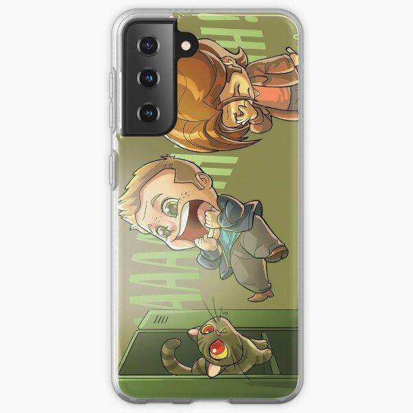 Dean Winchester scared Samsung Galaxy Soft Case