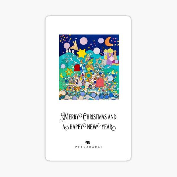 Christmas Card 4  Sticker