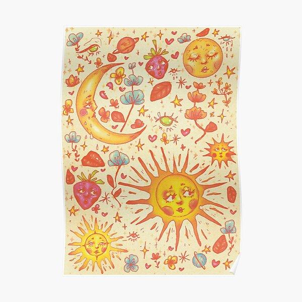 Celestial Spring Poster