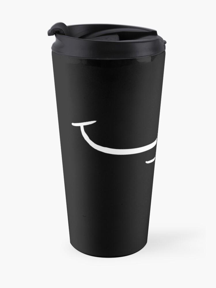 Alternate view of Baby keep smiling! - Hilarious Mask Design Travel Mug