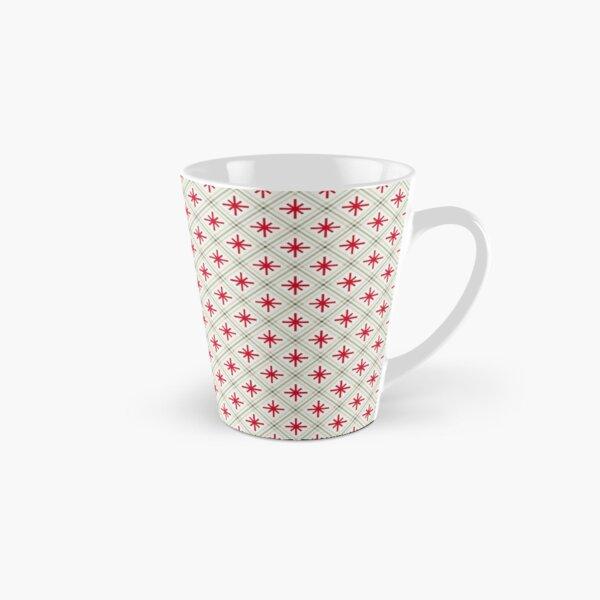Stars in diamond as a retro pattern Tall Mug