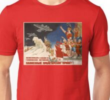Vintage poster - Soviet Art Poster Unisex T-Shirt