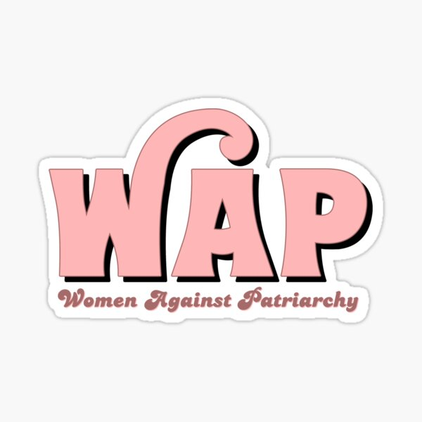 WAP X Women Against Patriarchy Sticker