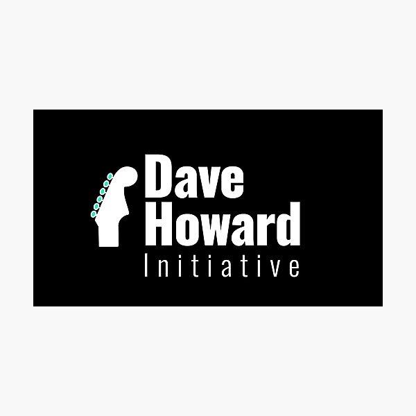 David Howard Initiative Logo Wear! Photographic Print