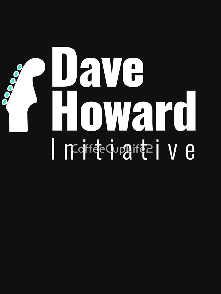 David Howard Initiative Logo Wear! by CoffeeCupLife2