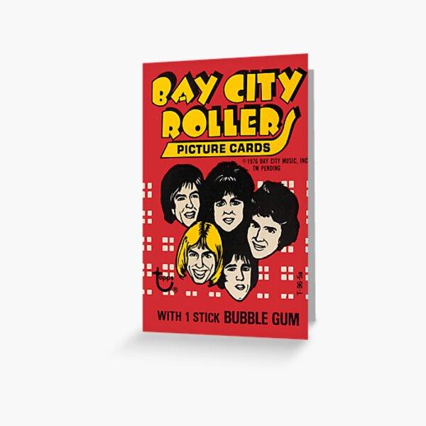 Bay City Rollers - S-A-T-U-R-D-A-Y NIGHT !! Greeting Card