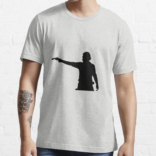 Rick Grimes Aiming Revolver Essential T-Shirt