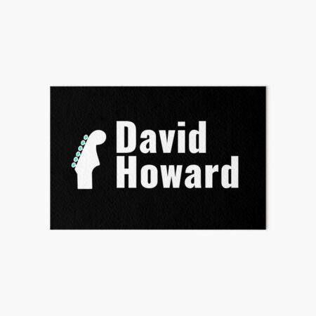 David Howard Logo Wear! Art Board Print
