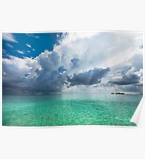 Get Lost. Maldivian Scenery Poster