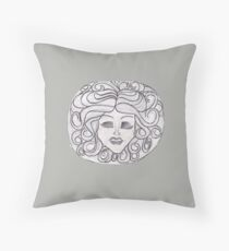 Madame Leota (Haunted Mansion) Throw Pillow