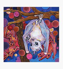 Dayak fruit bats painting - 2012 Photographic Print