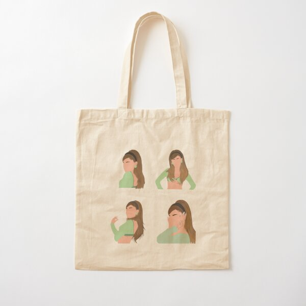 ariana positions  Cotton Tote Bag