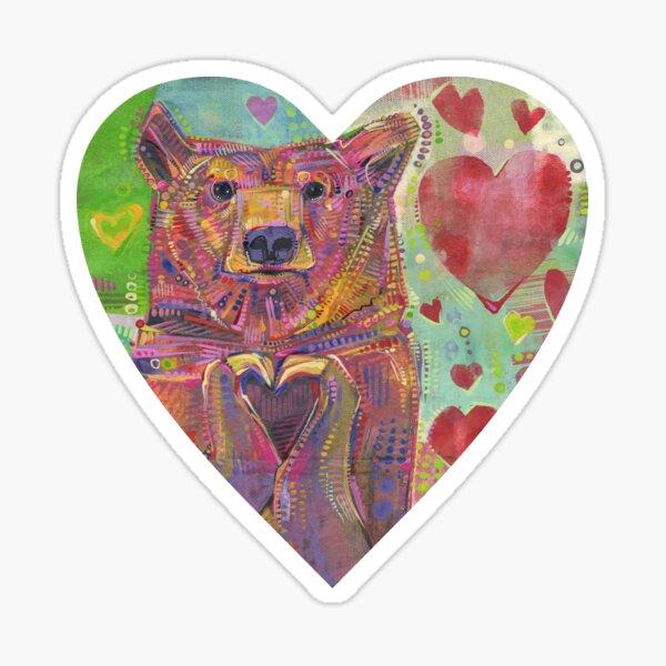 Share the Bear (Green) - 2014 Sticker