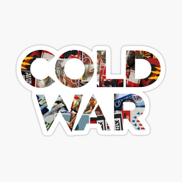 Título de Black Ops Cold War Pegatina